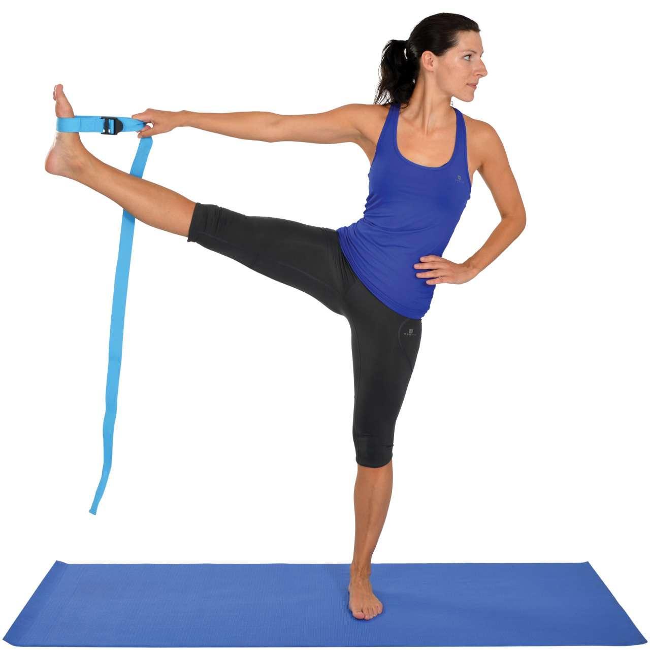 MAMBO Yoga Band mit Schnalle Yoga-Band 1 Stück