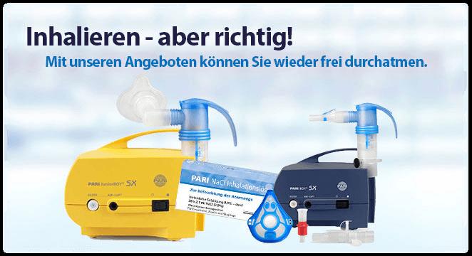 Sliderbanner - Inhalation - Effektiv inhalieren bei Erkältung