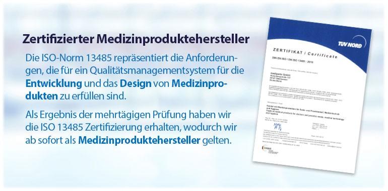 Sliderbanner - Iso-Zertifizierung