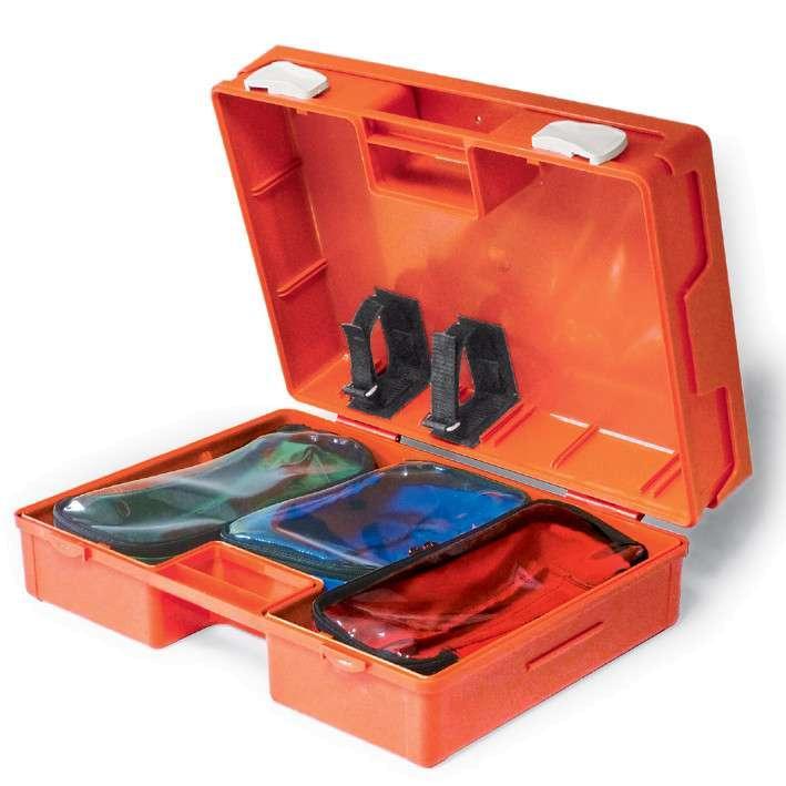 MEGRO Notfallkoffer leer 44 x 31 x 14,5 cm 1 Stück
