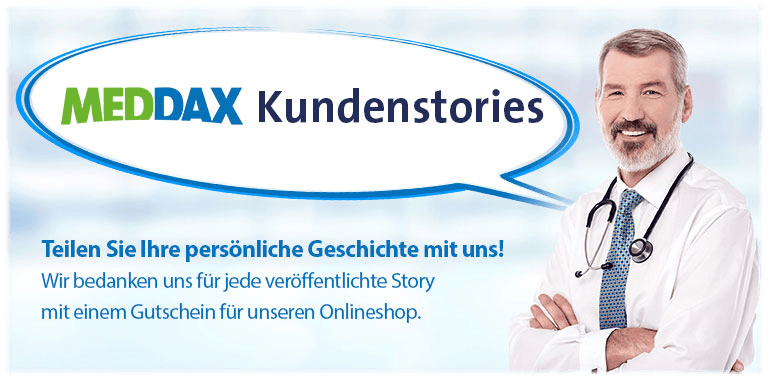 Sliderbanner - MEDDAX Kundenstories