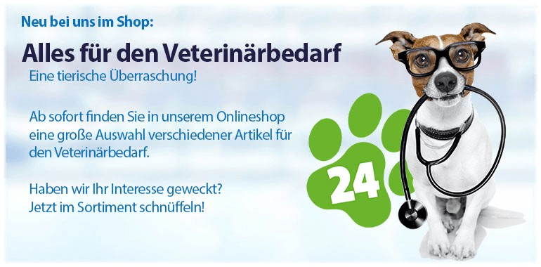 Sliderbanner - Neu: meddax24.de Veterinärmedizin