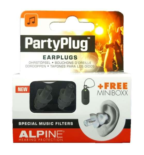 alpine partyplug geh rschutz f r musik konzerte disco. Black Bedroom Furniture Sets. Home Design Ideas