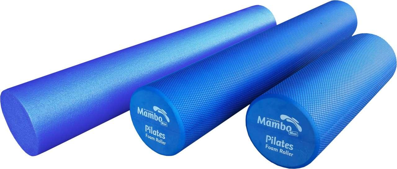 MVS Mambo Pilates Roller Ř 15 cm und in 2 Längen 45 cm 1 Stück