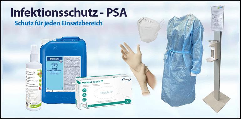 Sliderbanner - Infektionsschutz - PSA