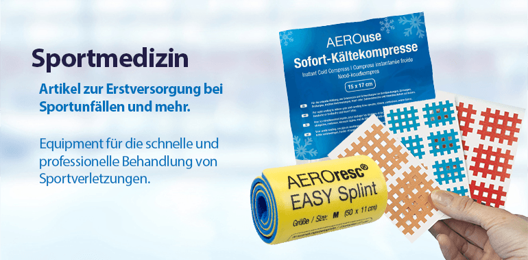 Sliderbanner - Sportmedizin